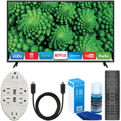D55f-E2 D-Series 55` Full Array LED Smart TV + USB Wall Outlet & Accessory Kit