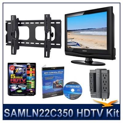 LN22C350 - HDTV + Hook-up Kit + Power Protection + Calibration + Tilt Mount