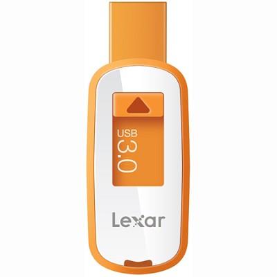 8 GB JumpDrive S23 - USB 3.0 Flash Drive (Orange) LJDSS23-8GBASBNA
