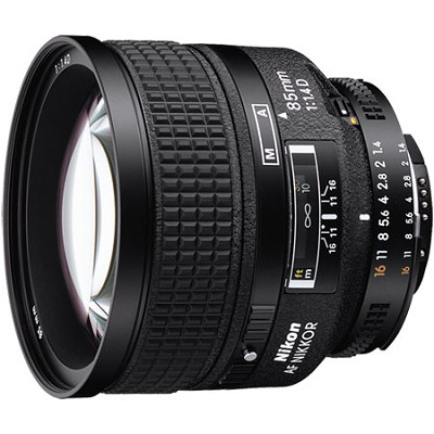 85mm f/1.4D IF AF Telephoto Nikkor Lens Factory Refurbished
