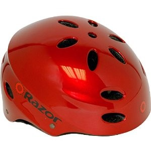 V17 Youth Ages 8 - 14 Helmet  - Lucid Red