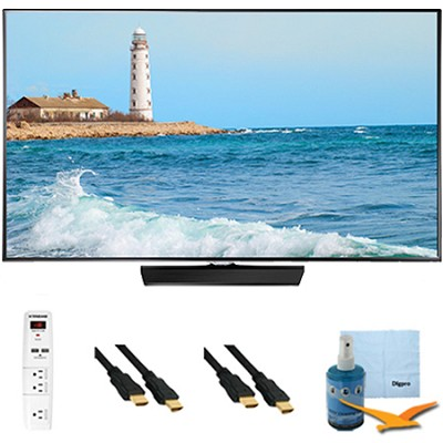 32` Slim 1080p LED Smart TV 60hz Clear Motion 120 Plus Hook-Up Bundle UN32H5500