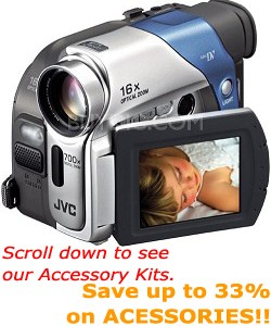 GR-D33US MiniDV Camcorder with 2.5` LCD