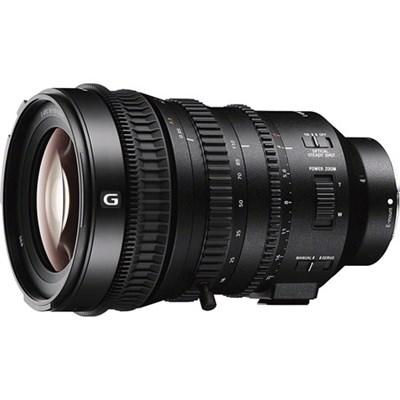 E PZ 18-110mm APS-C / Super 35mm F4 G OSS E-mount Power Zoom Lens