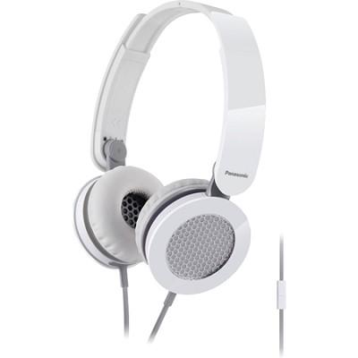 Sound Rush On-Ear Headphones, White/Gray (RP-HXS200M-W)
