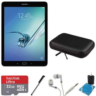 Galaxy Tab S2 9.7-inch Wi-Fi Tablet (Black/32GB) 32GB MicroSD Card Bundle