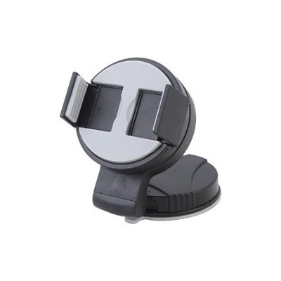 Universal Rotating Cell Phone Car Dock - Squeeze Mount