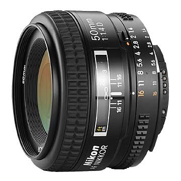 50mm F/1.4D AF Nikkor Lens, With Nikon 5-Year USA Warranty