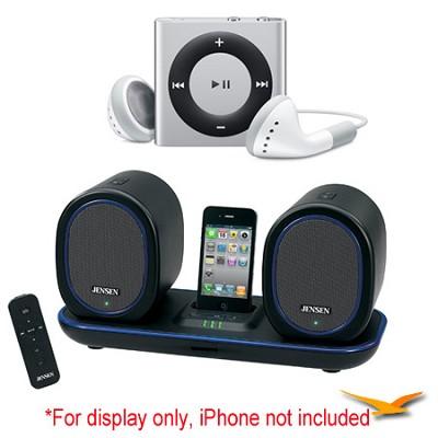 Docking Digital Music System w/ Wireless Speakers and iPod Shuffle Bundle