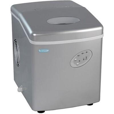 AI-100S Portable Ice Maker (Silver)