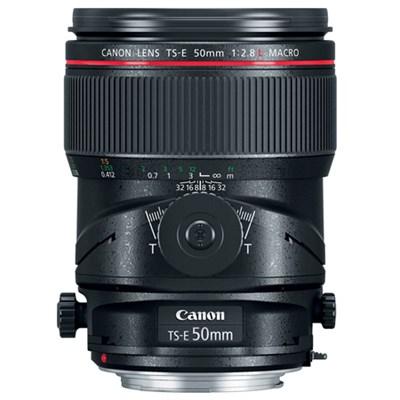 TS-E 50mm f/2.8L Macro Tilt-Shift EF-Mount Full Frame Lens