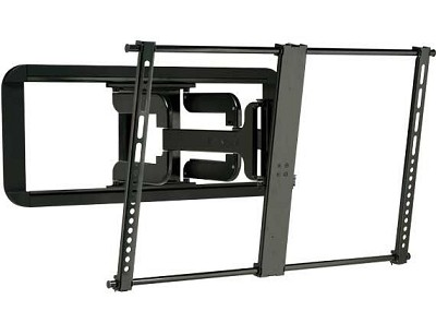 VLF320 Super Slim Full Motion Wall Mount for 37` - 84` TVs (sits 1.2` from wall)