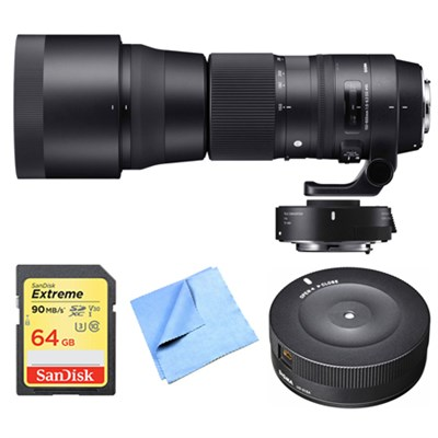 150-840mm F5-6.3 Contemporary Nikon Lens, Teleconverter, and Dock Bundle