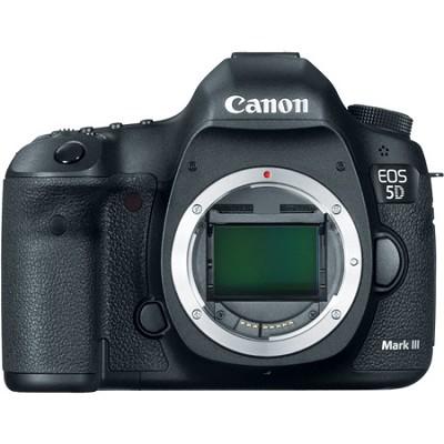 EOS 5D Mark III 22.3 MP Full Frame CMOS Digital SLR Camera (Body) Factory Refurb