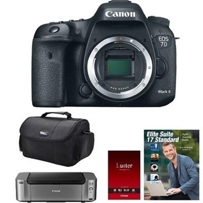 EOS 7D Mark II Digital SLR (Body) / Pro 100/ Photo Paper/ Corel Elite Suite 17