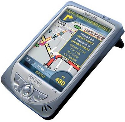 PiN GPS Receiver and Pocket PC (Refurbished)