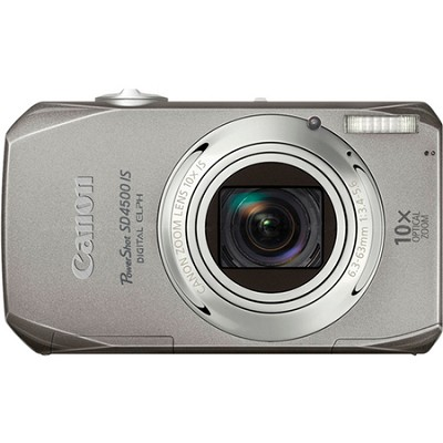 PowerShot SD4500IS 10MP Digital Elph Camera w/ 10x Optical Zoom 1080P HD Video