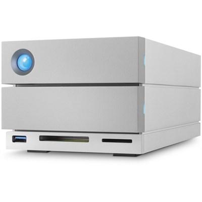 20TB 2big Dock Thunderbolt 3 + USB-C Desktop Grey Disk Array