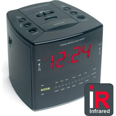 SleuthGear NightOwl IR Clock Radio Camera