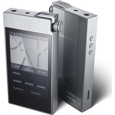 AK100 II Portable Hi-Fi Sound System (Smokey Blue / Aluminum)