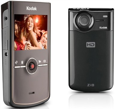 Zi8 Pocket 1080p Video Camera (Black)