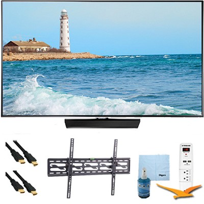 48` Slim Full HD 1080p LED Smart TV 60Hz Plus Tilt Mount & Hook-Up Kit UN48H5500