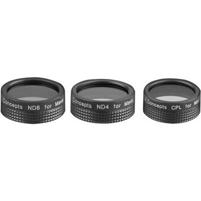 Filter Kit (CPL+ND4+ND8) For Mavic Air, A Lightweight Foldable Drone