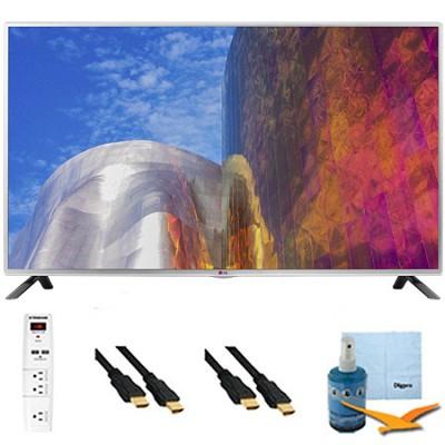60LB5900 - 60-Inch Full HD 1080p 120hz LED HDTV Plus Hook-Up Bundle
