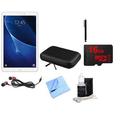 Galaxy Tab A 16GB 10.1-inch Tablet & Accessories Bundle - White