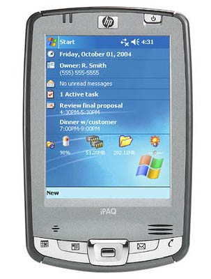 iPAQ hx2415 Pocket PC