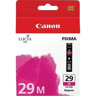 PGI-29 M - LUCIA Series Magenta Ink Cartridge for Canon PIXMA PRO-1 Printer