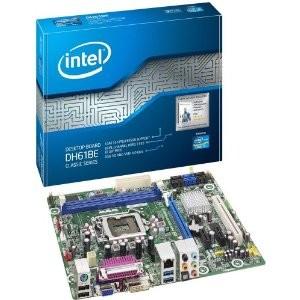 Boxed Intel H61 Micro ATX DDR3 1333 Motherboards BOXDH61BEB3 - OPEN BOX