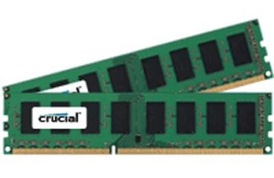 4GB kit (2GBx2), 240-pin DIMM, DDR3 PC3-10600, NON-ECC,