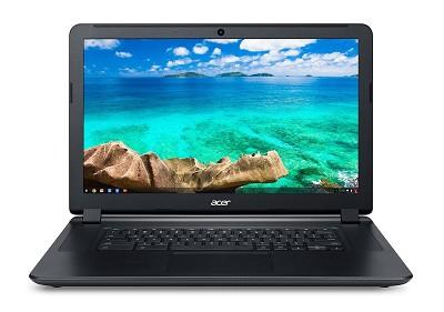 15.6` HD Chromebook - Intel Celeron 3205U Dual-Core 2.10 GHz