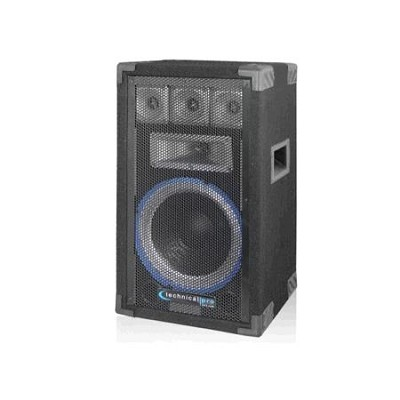 VRTX10 10` Five way Carpeted Cabinet Speaker w/ Steel Grill