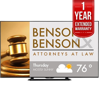 80` Class Full HD Commercial LED TV PN-LE801 with 1 Year Extended Warranty