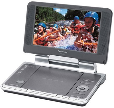 DVD-LS82 Portable DVD Player Adjustable 8.5` LCD