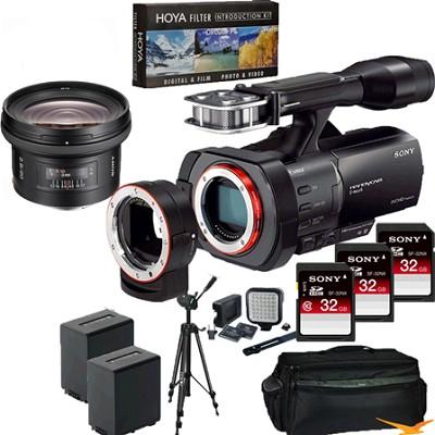NEX-VG900 Full-Frame Full Frame HD Camcorder + SAL 20MM f/2.8 Full Frame Lens
