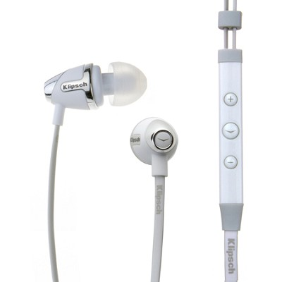 Image S4i - White In-Ear Headphones - Factory Recertified