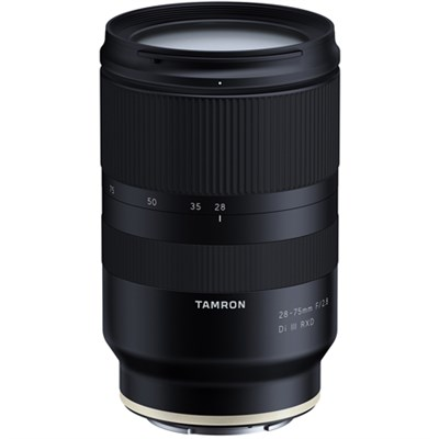 28-75mm F/2.8 Di III RXD Full Frame E-mount Lens (A036) for Sony Mirrorless