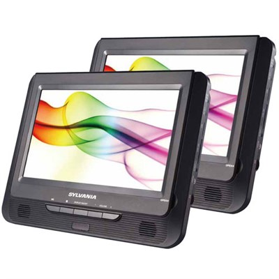 SDVD9805 9` Twin Dual Screen DVD Player