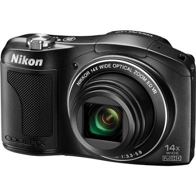 COOLPIX L610 16MP Digital Camera w/ 14x Zoom + 3.0-inch LCD (Black) Refurbished
