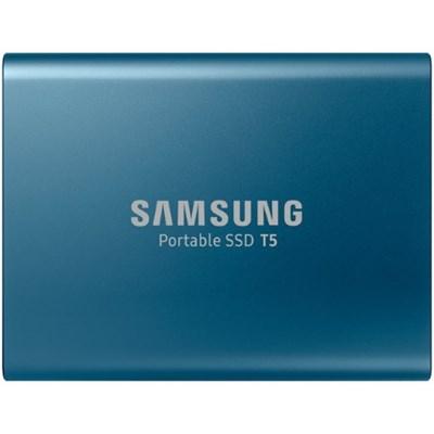 MU-PA500B/AM 500GB T5 Portable Solid-State Drive, Blue
