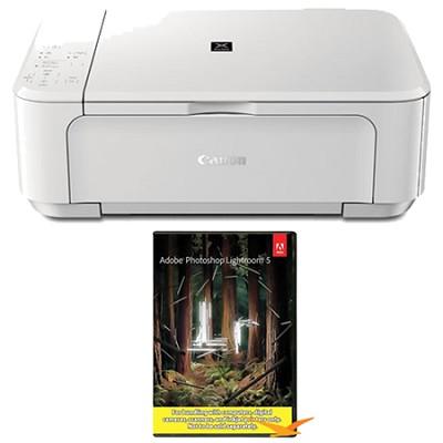 PIXMA MG3520 Wireless Inkjet All-In-One Photo Printer - White w/ Photoshop