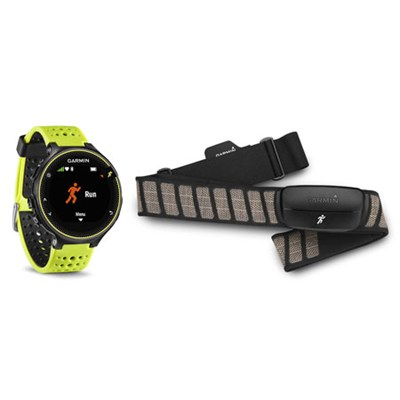 Forerunner 230 GPS Running Watch w/ Chest Strap Heart Rate Monitor