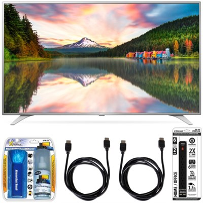43UH6500 43-Inch 4K UHD Smart TV w/ webOS 3.0 Accessory Bundle