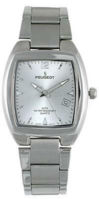 136SL Metal Link Men's Silver Contemporary Watch