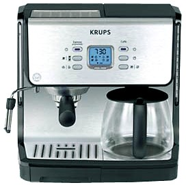 XP2070 Programmable 10-Cup Coffeemaker/15-Bar Pump Espresso Machine