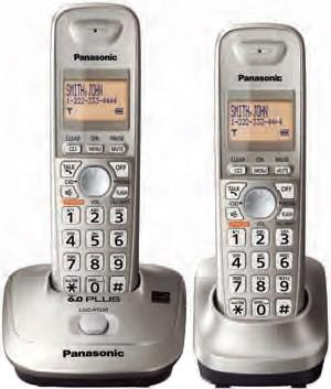 KX-TG4012N DECT 6.0 Plus Expandable Digital Cordless Phone