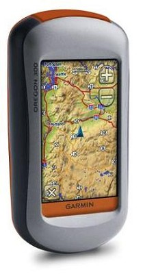Oregon 300 High-Sensitivity GPS Receiver w/ Worldwide DEM Basemap